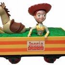Disney Toy Story Jessie CowGirl Bullseye G Scale Train Car Woody's Roundup