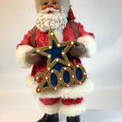Possible Dreams Clothtique Santa Greeting the Millennium 2000 Lighted Star Music