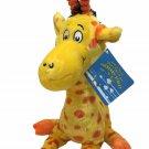 "Kohls Dr. Seuss Giraffe Plush Yellow Stuffed Animal Toy Mulberry Street 14"" TAG"