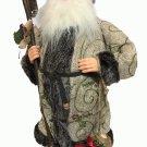 "RARE HTF Vintage Santa Claus Figure Traditional St Nick Christmas Holiday 16"""