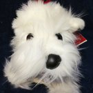 Croonin Critters RARE White Scottie Scottish Dog Dept 56 Holiday Hounds Westie