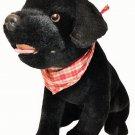 "Circo Black Labrador Retriever Plush Puppy Dog Stuffed Animal Toy 14"" Lab Target"