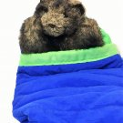 RARE Folkmanis Baby Bear Cub in Sleeping Bag Hand Puppet Plush Stuffed Animal