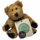 "Boyds Bears Simone Plush Brown Bear Golden Teddy Award Nominee 6"" Jointed TAG"