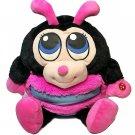 "Mushabelly Chatter Adorables RARE Lady Bug Big Eyes Plush Pink Jay At Play 20"""