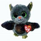 "TY Beanie Boo Boos VLAD the Halloween BAT Plush Stuffed Animal 6"" Figure Cobweb"