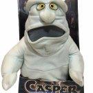 "Vintage Pizza Fatso Plush Toy 1994 Tyco Nite Glow Eyes Casper Friendly Ghost 14"""