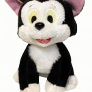 Disney Pinocchio Figaro Plush Cat Black White Vintage Stuffed Animal Kitten 6""