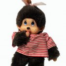 "Monchichi Monkey Sailor Baby Girl Thumb Sucking Pacifier Monchhichi Doll 7.5"""
