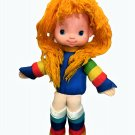 Vintage 1983 Rainbow Brite Stuffed Girl Doll Plush Hallmark Mattel Bright 18""
