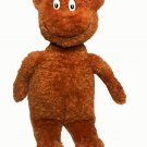 "Kohls Dr Seuss Hop On Pop Bear Plush Stuffed Brown Animal 16"""