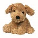 Hamleys RARE HTF Golden Labrador Retriever Plush Puppy Dog Stuffed Bean Bag Toy