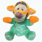 Disney Tigger Baby Rattle Chime Plush Stuffed Animal Toy Mint Green Pastel 8""