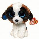 TY Beanie Boos DUKE St.Bernard Dog Plush Stuffed Animal Toy Heart Tags 6in.