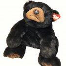 "Ty Black Bear LARGE Paws Huge Laying 28"" Plush Stuffed Animal #9030 Soft Toy"