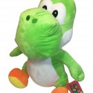 "NEW Green Yoshi Plush RARE 20"" Nintendo Super Mario Bros Large Stuffed Animal"