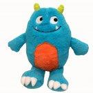 "Carters Alien Happy Monster Baby Plush Blue Orange Smiling Horns Soft Toy 10"""