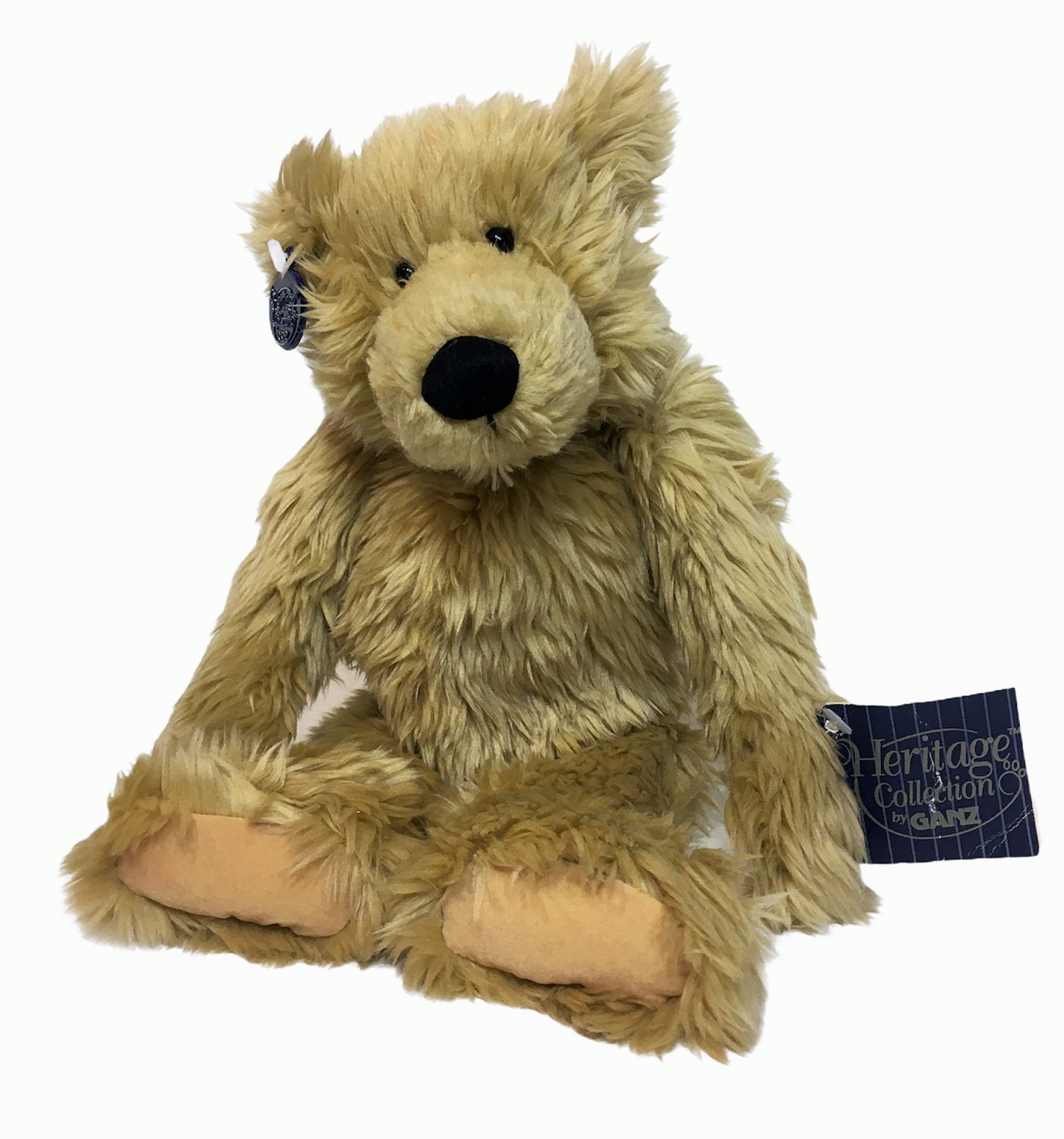 """GANZ Petie Bear Heritage Collection Light Brown Jointed Teddy H3712 - 14"""""""