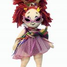 "Madame Alexander Fancy Nancy Cloth Plush Doll 18"" Ballerina Crown Yarn Hair 2008"