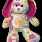 Build a Bear Spring Pastel Flowers Blossom Bunny Rabbit Tye Dye Plush 16in