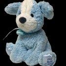 "Gund Baby My First Puppy Small Blue White Dog 319787 Plush Baby Toy Lovey 8"""