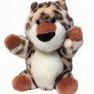 "Vintage 1989 Gund Spotted Leopard Cheetah Spots Plush Baby Cub Stuffed Animal 5"""