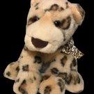 Vintage Gund KENYA Spotted Leopard Cheetah Spots Plush Baby Cub Stuffed Animal
