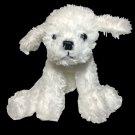 "Russ RARE Bichon Frise Cutie Doodles Puppy Dog White Plush Stuffed Animal 4.5"""