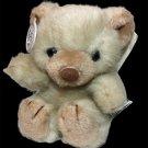 "RARE Russ Berrie Tuff Teddy Bear Plush Vintage small mini 6"" tall #567 TAGS"