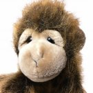 Ty Buddy Cha Cha Monkey Plush 1998 TY Buddies Brown Beanie Stuffed Animal 10in.