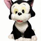 """Disney Figaro Kitty Cat Plush Stuffed Animal Black White Pinocchio Toy 6"""""""