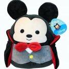 "RARE Squishmallow Disney Mickey Mouse Dracula Vampire Halloween NWT 15"" Plush"