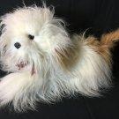 RARE Old English Sheepdog Plush Dog Realistic Stuffed Animal Cuddle Wit LARGE