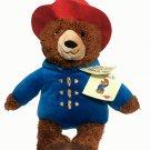 "NEW Kohls Plush PADDINGTON BEAR Book Character 2016 Stuffed Toy Red Hat Coat 14"""