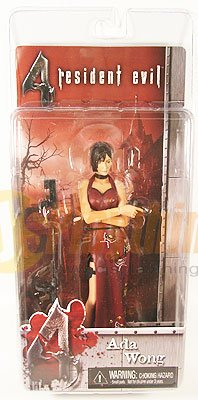 NECA RESIDENT EVIL 4 series 1 Ada Wong w/ pistol and Tommy Gun