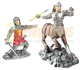 CHRONICLES OF NARNIA Battle Scale 2-Pack Edmund Pevensie & Centaur