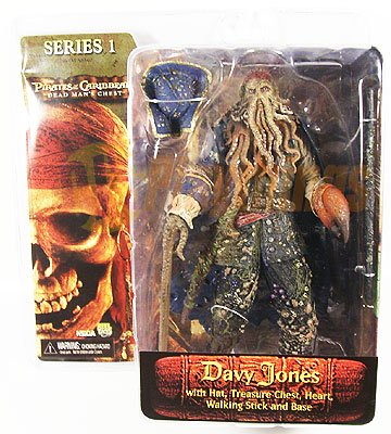 NECA PIRATES OF CARIBBEAN Dead Man's Chest series 1 Davy Jones