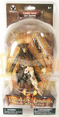 DISNEY PIRATES OF CARIBBEAN Cannibal JACK SPARROW Dead Man's Chest EXCLUSIVE