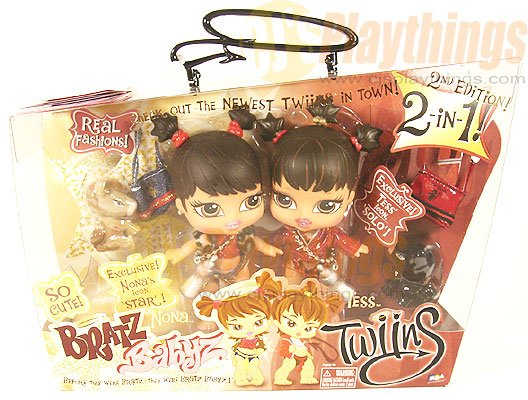 Bratz Babyz Baby Twins Twiins NONA & TESS Great for Present