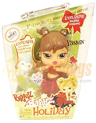 Bratz Babys Baby Target  Yasmin for Holiday Chrismas XMAS