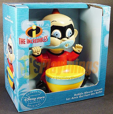 Disney Exclusive Bubble Blowing' Friends THE INCREDIBLES JACK-JACK