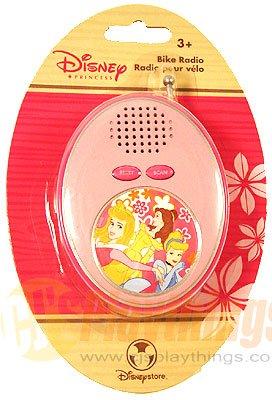 Authentic Disney Store Exclusive Princess bike Radio FM