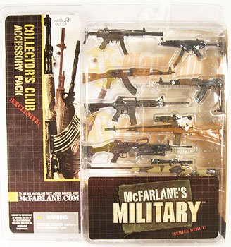 Mcfarlane Toys Military Series 1 Collector's Club Exclusive ACCESSORY WEAPON PACK