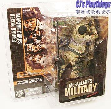 Mcfarlane Military Series 1 DEBUT MARINE CORPS RECON SNIPER