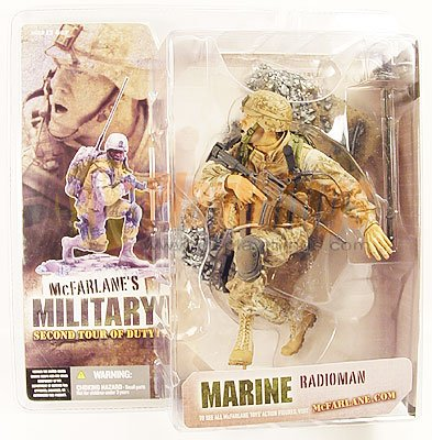 Mcfarlane Military series 2 2nd Tour of Duty MARINE RADIOMAN White Caucasian