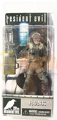 NECA Resident Evil 10th Anniversary Hunk Action Figure