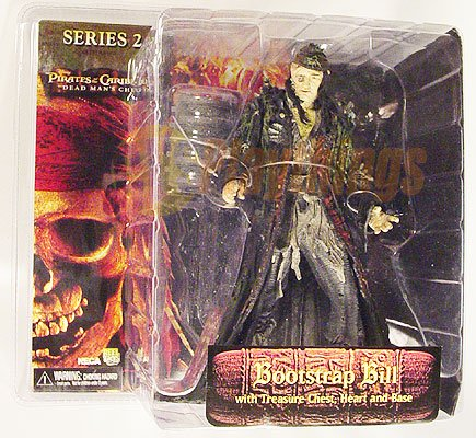 PIRATES OF CARIBBEAN Dead Man's Chest series 2 Bootstrap Bill