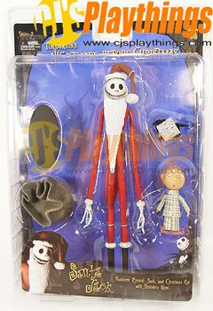 NECA Nightmare Before Christmas NBX Series 2 Santa Jack