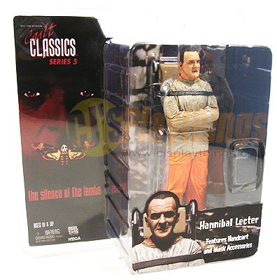 NECA Cult Classics Series 5 Hannibal Lecter The silence of the lambs