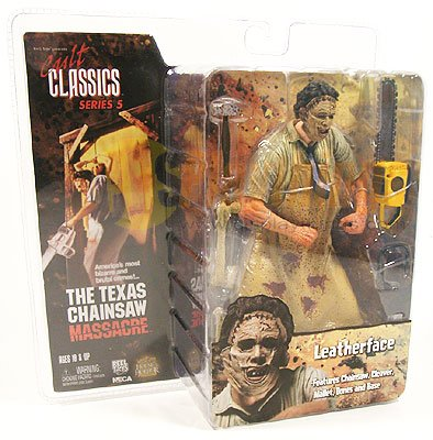 NECA Cult Classics Series 5 Leatherface Texas Chainsaw Messacre